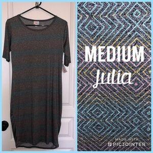 LuLaRoe Julia dress NWT Medium
